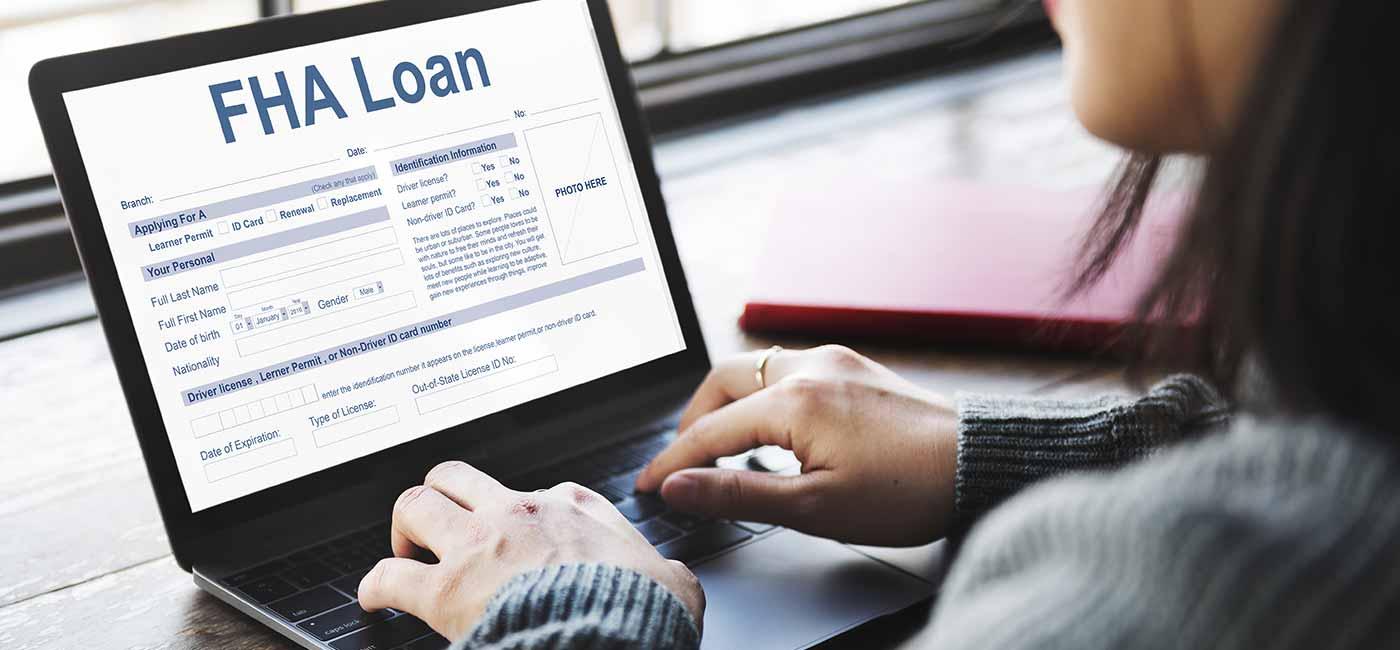 FHA home loan image