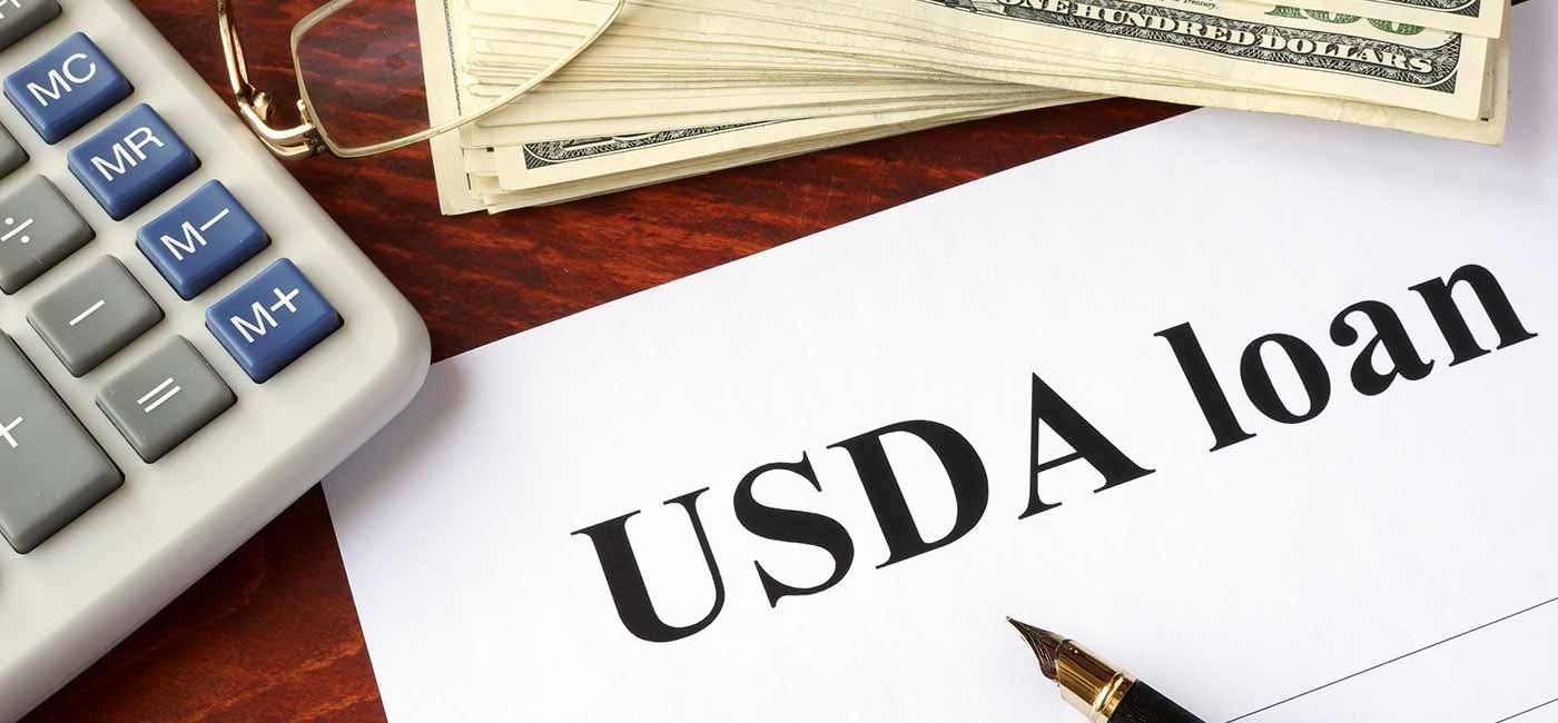 USDA home loan image