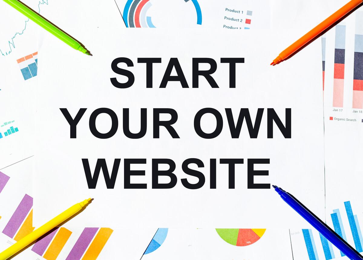 Start A Website Image